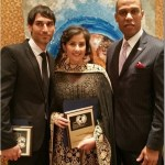 Manisha Koirala honored with GOD Awards by the United Nations