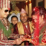 Actress Reema Bishowkarma marries a UK NRN