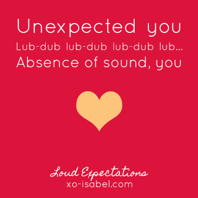 XO, Isabel - Haiku - Loud Expecations