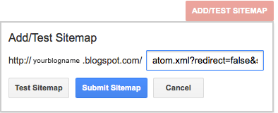 How to create & submit sitemap for Blogger blog