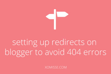 How to set up custom redirects on Blogger