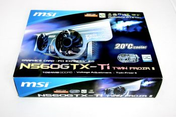 MSI N560GTX TI Twin Frozr II