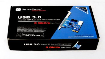 Silverstone USB 3.0 PCI Card