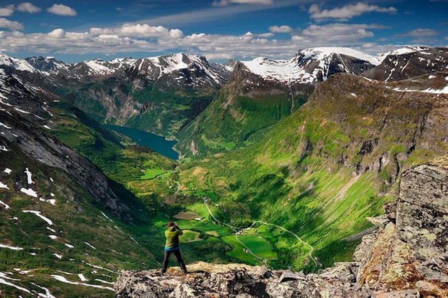 туры в норвегию, далснибба
