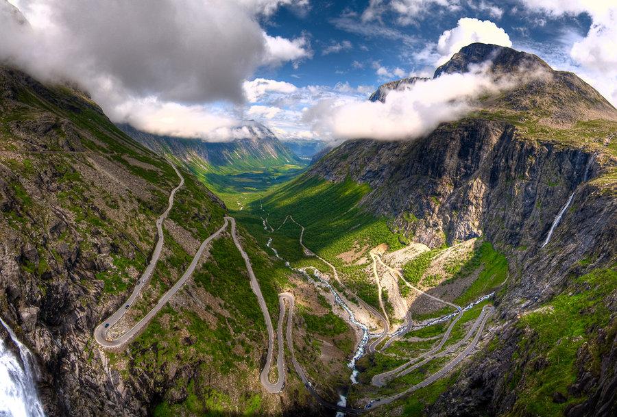 дорога трллей, туры в норвегию