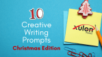 Creative Writing Prompts (Christmas)