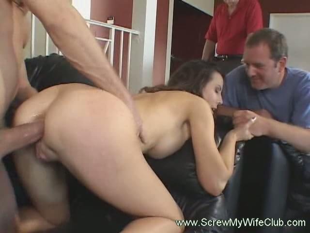 wife takes huge cock