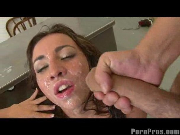 Amateur cumshot surprise tube