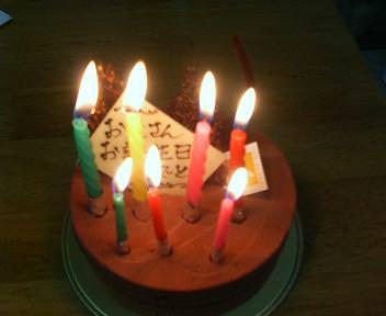 43歳の誕生日