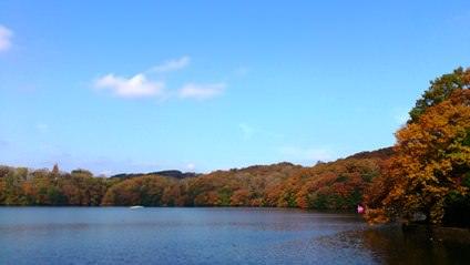 一碧湖の紅葉2