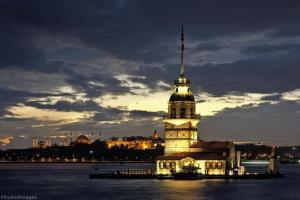 البرج مساء