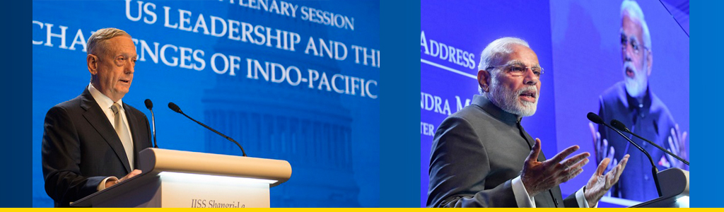 What's in a name? US Defense Secretary James N. Mattis explains the geopolitical significance of the Indo-Pacific region while India's Premier Narendra Modi downplays political significance