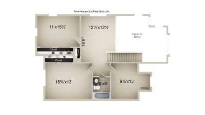 Townhome 2nd Floor