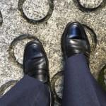 ピカピカの靴で出勤。自分の気分は自分で良くする。 #828
