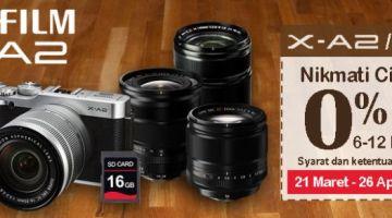 Promo Fujifilm XA-2