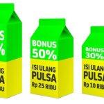 Promo Hujan Pulsa 100% dari Indosat