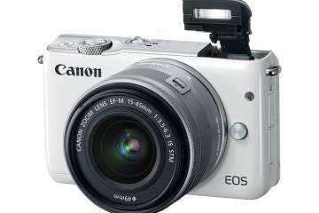 Canon M10 depan
