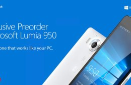 promo preorder lumia 950