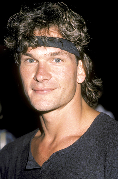 "Actor Patrick Swayze attends the premiere of ""Grandview, U.S.A."" on July 9, 1984 at the Writer's Guild Theater in Beverly Hills, California."
