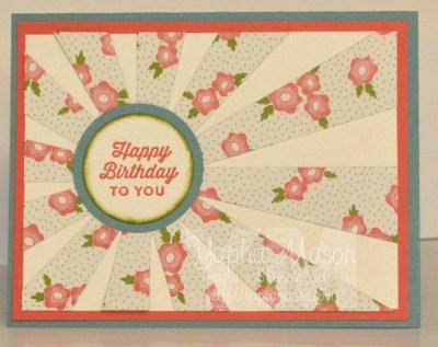Birthday Sunburst by Yapha