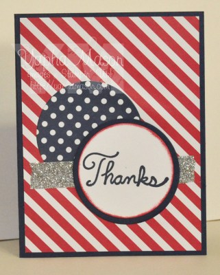 Patriotic Thank You by Yapha