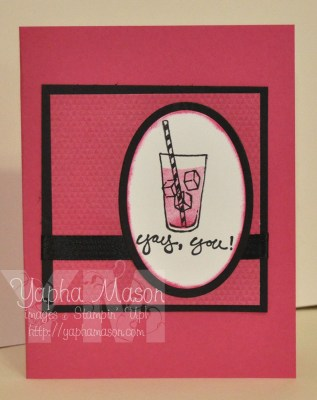 Plexus Pink Drink Card