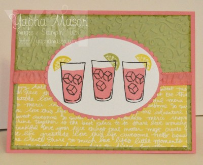 Plexus Pink Drink by Yapha
