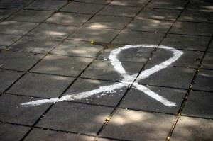 chalk ribbon