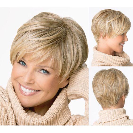 Модные причёски для женщин после 50