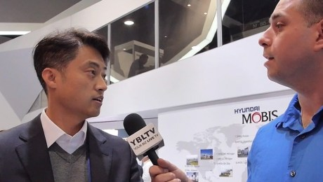 Nam Nyunwoo, Principal Research Engineer / Technology Strategy Team,  Hyundai Mobis Co., Ltd. speaks with YBLTV Contributing Reporter, Kyle Love at CES 2016.