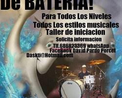 Escuela de batería en Alcala de Henares