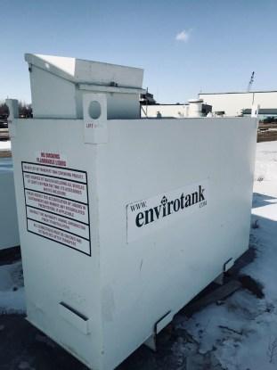 20622 Rectangle Double wall Generator Tank 500 gallon