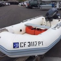 Zodiac YL 310 RIB with 15 HP Yamaha outboard