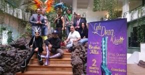 Las 'drag queen' de la gala del Carnaval de Llanito llegan a La Palma