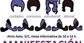 El Ayuntamiento de Santa Cruz de La Palma apoya la huelga del 8 de marzo en la lucha por la igualdad entre hombres y mujeres