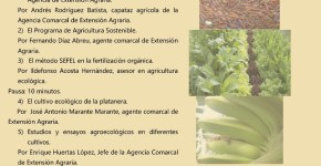 El Cabildo expone su programa de fomento de la agricultura sostenible como modelo alternativo en el sector primario
