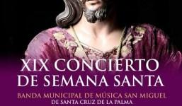 XIX Concierto de Semana Santa en S/C de La Palma
