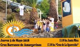Actividades de la Cruz del Barranco de Amargavinos
