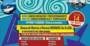 El Cabildo abre el plazo de inscripción de los cursos de vela de verano