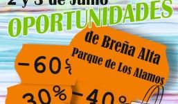 III FERIA DE OPORTUNIDADES DE BREÑA ALTA 2 y 3 de junio de 2018, Parque de Los Álamos