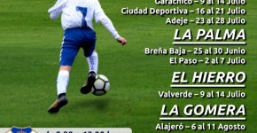 """Apúntate al """"XIV Campus Suma"""" del Club Deportivo Tenerife que tendrá en Breña Baja"""