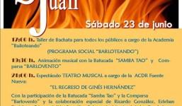 Víspera de San Juan en la Fajana de Barlovento