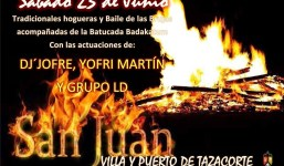 Hoguera y baile de brujas en Tazacorte
