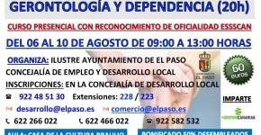 CURSO DE AUXILIAR DE GERONTOLOGÍA Y DEPENDENCIA