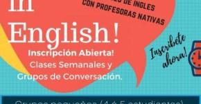 Clases de inglés en Santa Cruz, Barlovento y Los Llanos
