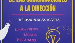 Ultimas plazas - Administración y gestión de las comunicaciones a la dirección
