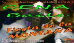 """Cena para la """"Fiesta de La Montaña 2019"""""""