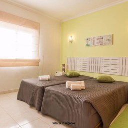 Newly updated Apartment in Albufeira, located in a private complex with pool view