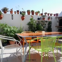 Lovely and cozy 2 bedroom villa with pool & Wifi near the beach of Manta Rota