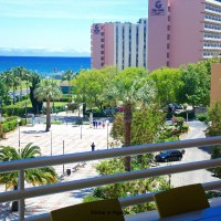 NEW One block from beach and Marina Vilamoura. Luxury, comfortable 2 bed flat with great Seaview
